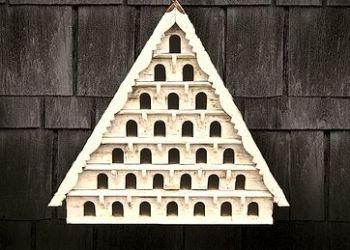 Seven Tier Birdhouse (Small Hole)