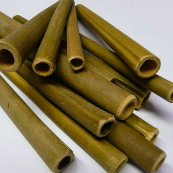 Wooden Bee Nesting Tubes ( PK 50 )