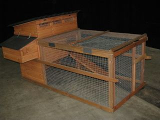 Dovedale Poultry House - Raised chicken house for up to 4 hens