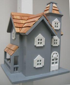 Little Manor Birdhouse - Blue