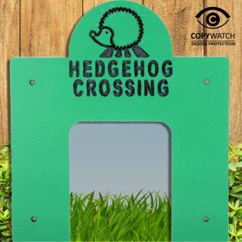 Hedgehog Crossing Design 1 - Square Tunnel