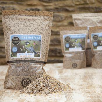 Cotswold Granaries 'No Mess' Bird Food Medium