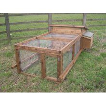 Poultry House and adjoining run
