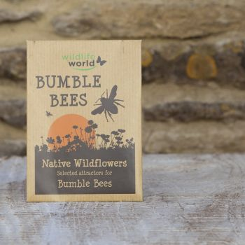 Native Wildflower Seeds for Bumblebees