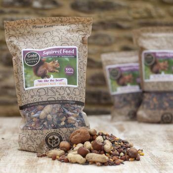 Cotswold Granaries Squirrel Food Medium